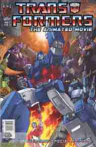 """Yesterday's"" Comic> Transformers: The Animated Movie #1"