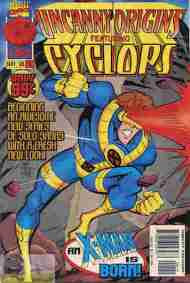 """Yesterday's"" Comic> Uncanny Origins #1"