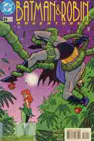 """Yesterday's"" Comic> Batman & Robin Adventures #24"
