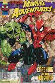 """""""Yesterday's"""" Comic> Marvel Adventures#2"""