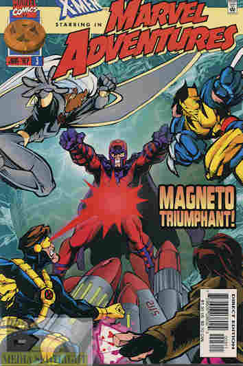Magneto Comic Strip
