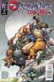 """Yesterday's"" Comic> Thundercats: Dogs Of War #3"