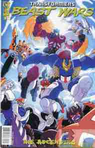"""Yesterday's"" Comic> Transformers: Beast Wars – The Ascending #2"