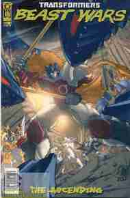 """Yesterday's"" Comic> Transformers: Beast Wars – The Ascending #3"