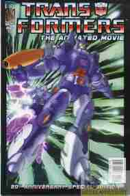 """Yesterday's"" Comic> Transformers: The Animated Movie #2"