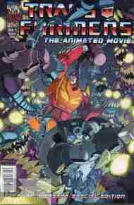 """Yesterday's"" Comic> Transformers: The Animated Movie #3"