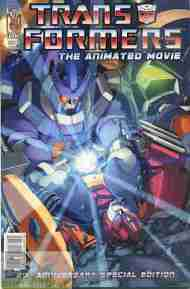 """Yesterday's"" Comic> Transformers: The Animated Movie #4"