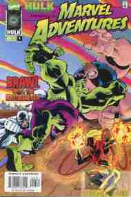 """Yesterday's"" Comic> Marvel Adventures #4"