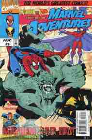 """Yesterday's"" Comic> Marvel Adventures #5"