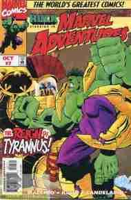 """""""Yesterday's"""" Comic> Marvel Adventures#7"""