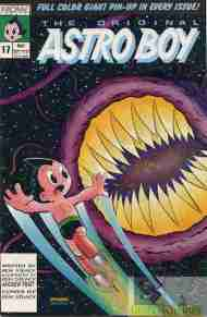 """Yesterday's"" Comic> Original Astro Boy #17"