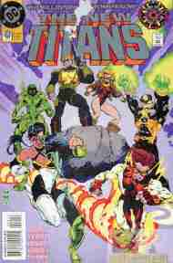 """Yesterday's"" Comic> The New Titans #0"