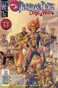 """Yesterday's"" Comic> Thundercats: Dogs Of War #5"