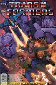 """Yesterday's"" Comic> Transformers: Infiltration #2"