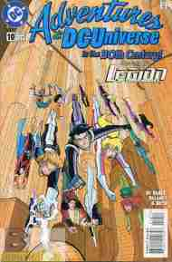 """Yesterday's"" Comic> Adventures In The DC Universe #10"