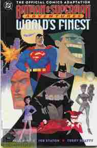 """Yesterday's"" Comic> Batman & Superman Adventures: World's Finest"