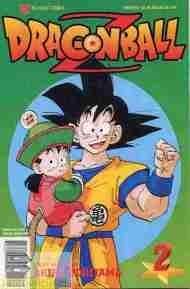 """Yesterday's"" Comic> Dragon Ball Z #2"