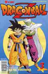 """Yesterday's"" Comic> Dragon Ball Z #3"