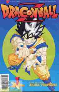 """Yesterday's"" Comic> Dragon Ball Z #1"