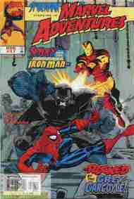 """Yesterday's"" Comic> Marvel Adventures #17"