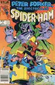 """Yesterday's"" Comic> Peter Porker: The Spectacular Spider-Ham #1"