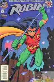 """Yesterday's"" Comic> Robin #0"