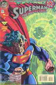 """Yesterday's"" Comic> Superman: The Man Of Steel #0"