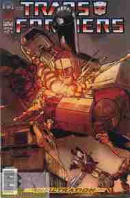 """""""Yesterday's"""" Comic> Transformers: Infiltration#5"""