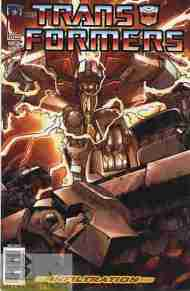 """Yesterday's"" Comic> Transformers: Infiltration #6"