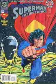 """Yesterday's"" Comic> Action Comics #0"