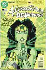 """Yesterday's"" Comic> Adventures In The DC Universe #11"