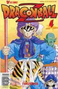 """Yesterday's"" Comic> Dragon Ball Z#4"