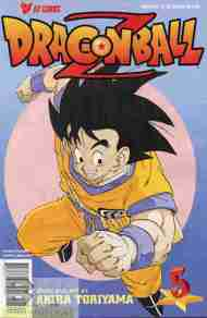 """Yesterday's"" Comic> Dragon Ball Z #5"