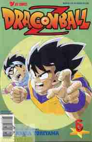 """Yesterday's"" Comic> Dragon Ball Z #6"