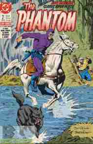 """Yesterday's"" Comic> The Phantom #2 (DC-Miniseries)"