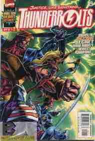 """Yesterday's"" Comics> Thunderbolts #1"