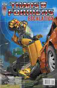 """Yesterday's"" Comic> Transformers: Escalation #1"
