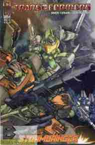 """Yesterday's"" Comic> Transformers: Stormbringer #3"