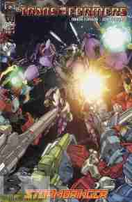 """Yesterday's"" Comic> Transformers: Stormbringer #4"