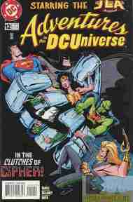 """Yesterday's"" Comic> Adventures In The DC Universe #12"