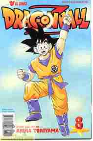 """Yesterday's"" Comic> Dragon Ball Z #8"