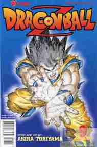 """Yesterday's"" Comic> Dragon Ball Z #9"