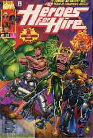 """""""Yesterday's"""" Comic> Heroes For Hire #1(1990s)"""