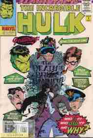 """Yesterday's"" Comic> The Incredible Hulk #-1"