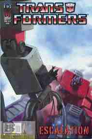 """Yesterday's"" Comic> Transformers: Escalation #5"