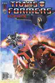 """Yesterday's"" Comic> Transformers: Escalation #6"