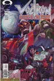 """Yesterday's"" Comic> Voltron: Defender Of The Universe #1 (Devil's Due)"