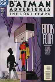 """Yesterday's"" Comic> The Batman Adventures: The Lost Years #4"