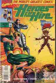 """""""Yesterday's"""" Comic> Heroes For Hire#2"""
