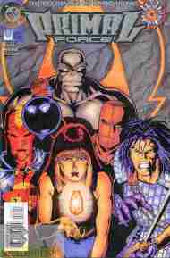 """Yesterday's"" Comic> Primal Force #0"